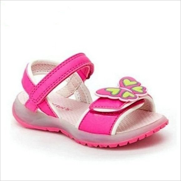 Carter's Other - LAST ONE NWT CARTER'S Light Up Butterfly Sandals